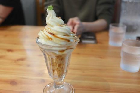キャラメルパフェ 北大マルシェ Cafe&Labo