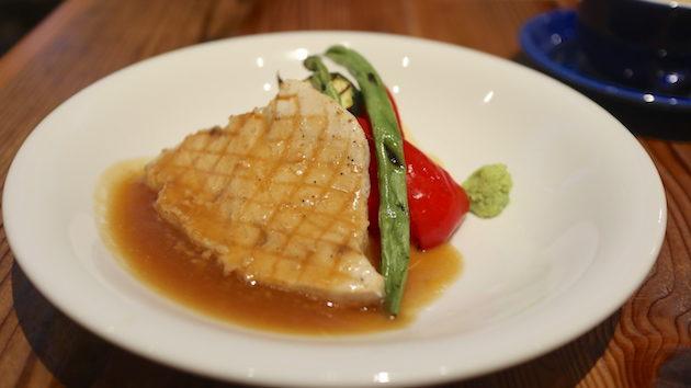 カジキマグロと野菜のグリル SALTY SUNNY BONDI CAFE