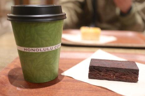 チョコレートケーキ HONOLULU COFFEE
