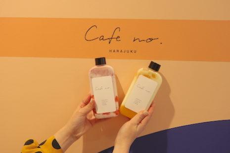 ストロベリーミルクとマンゴーヨーグルト Cafe no.