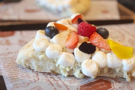 ホワイトチョコレートミルクティーピザ MAX BRENNER CHOCOLTE BAR