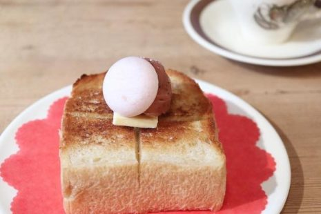 桜あんのバタートースト cafe Lotta