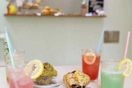 マフィンとフルーツソーダ Go! Muffins go!