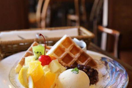 豆腐ワッフル craft&cafe ISAMIYA