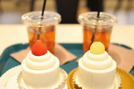クラッシックショートケーキとメロンショートケーキ PARIYA
