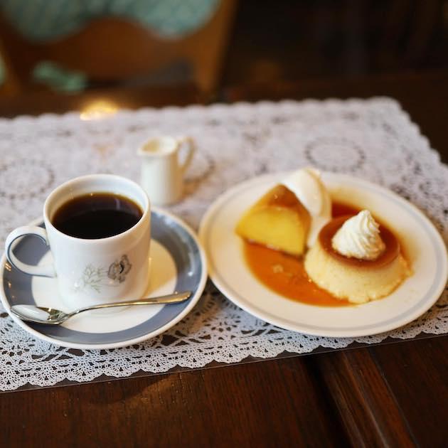 プリンとコーヒー マルディグラ