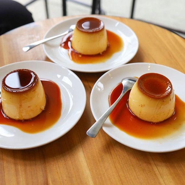 プリン Okusawa Factory Coffee and Bakes