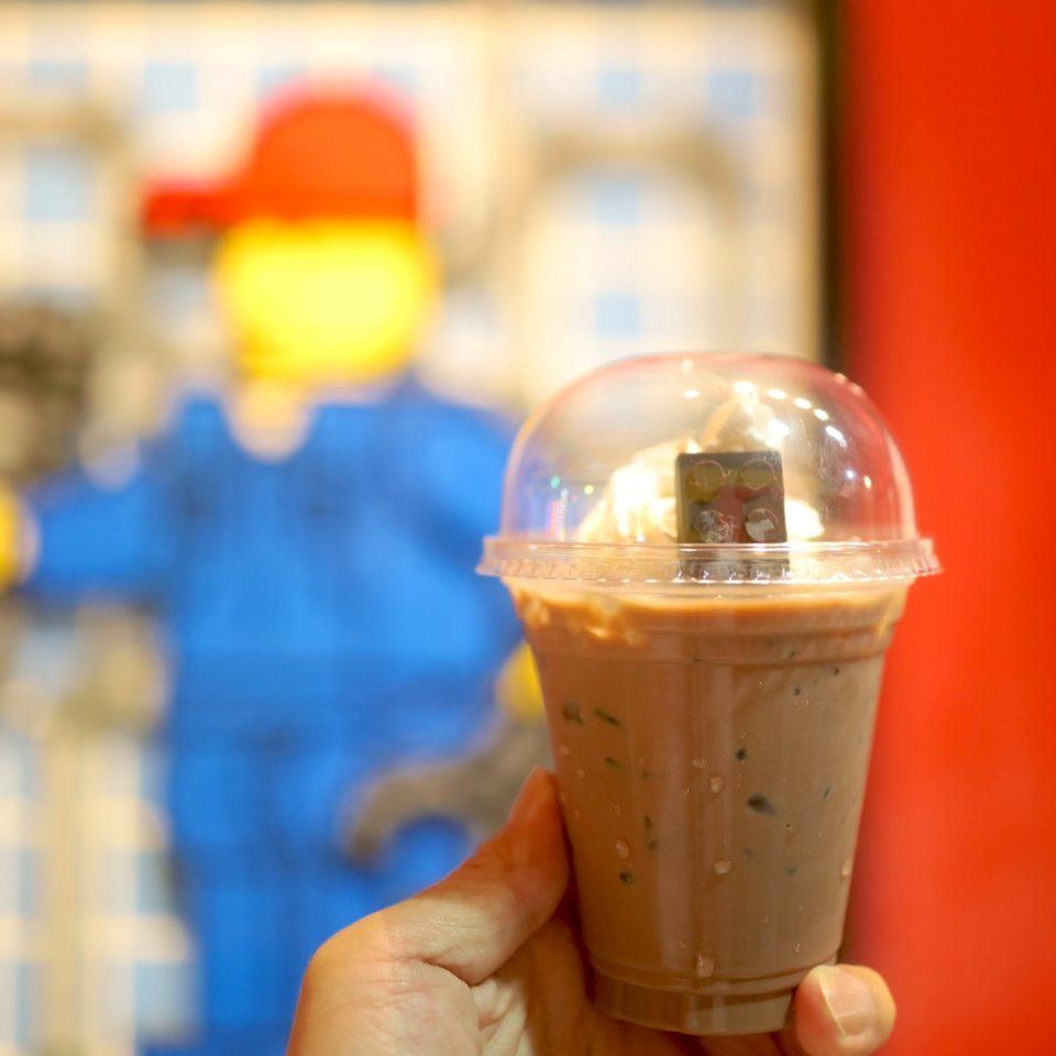 レゴチョコドリンク LEGO CAFE