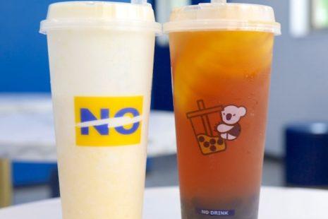 まるごとレモン紅茶とマンゴーチーズフォームスムージー NO DRINK 八王子店