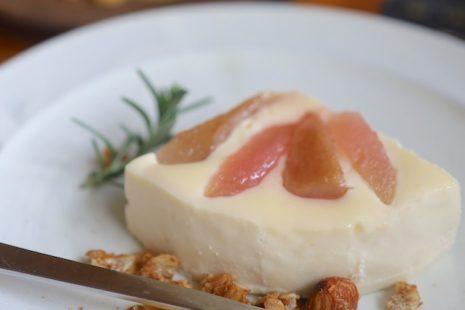 紅玉りんごとバラードのチーズケーキ Will Cafe