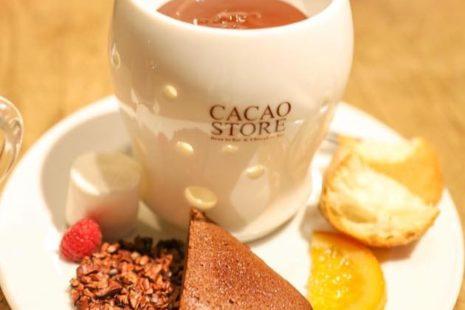 チョコレートフォンデュセット CACAO STORE