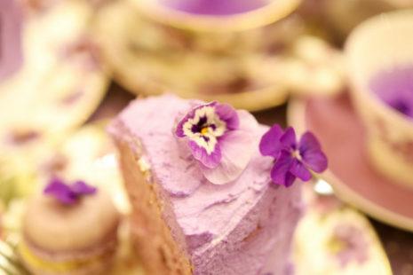 すみれの魔法のケーキセット CAFE ACORITE