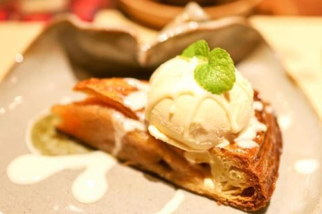 HOTあっぷるパイ・アラモード 茶菓房 林檎の樹 新市街店