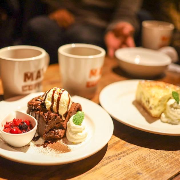 ガトーショコラとチーズケーキ MAT COFFEE