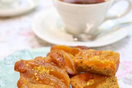 キャラメルりんごのティーケーキ アニバーサリー青山店