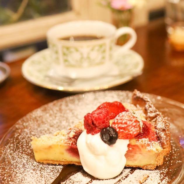 いちごのタルト Majorelle Cafe