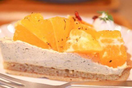 焦がしオレンジとチャイクリームタルト ond craft food+
